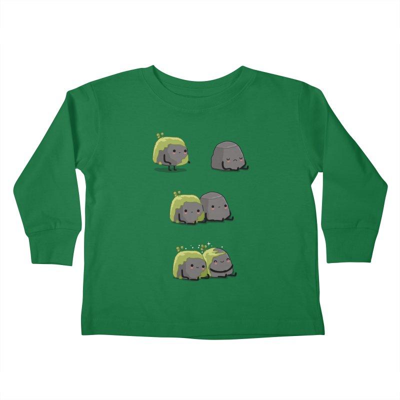 You help me the moss Kids Toddler Longsleeve T-Shirt by wawawiwadesign's Artist Shop
