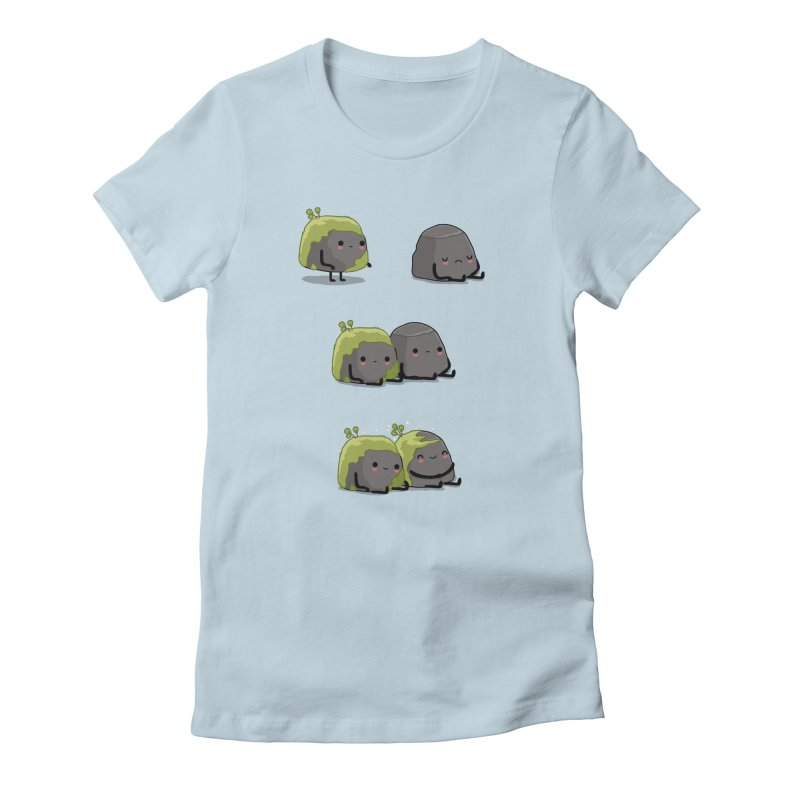 You help me the moss Women's T-Shirt by wawawiwadesign's Artist Shop