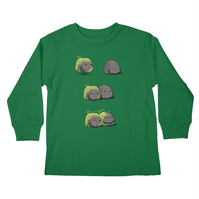 You help me the moss Kids Longsleeve T-Shirt by wawawiwadesign's Artist Shop