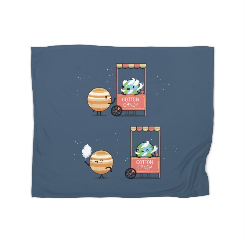 Cotton candy Home Blanket by wawawiwadesign's Artist Shop