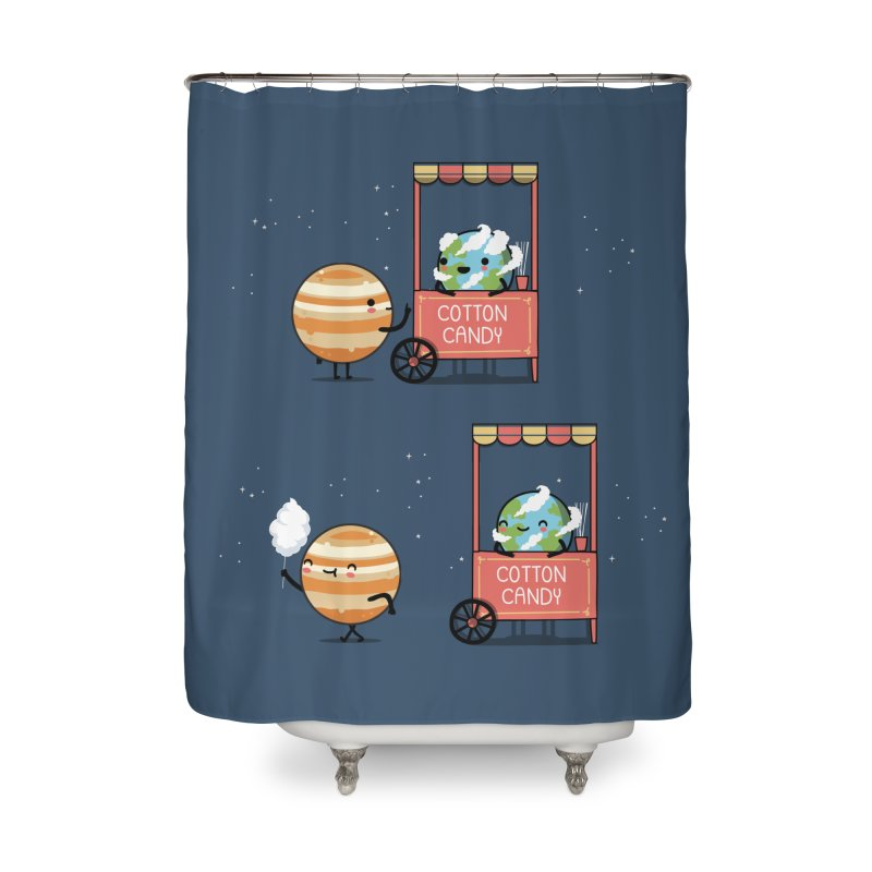 Cotton candy Home Shower Curtain by wawawiwadesign's Artist Shop
