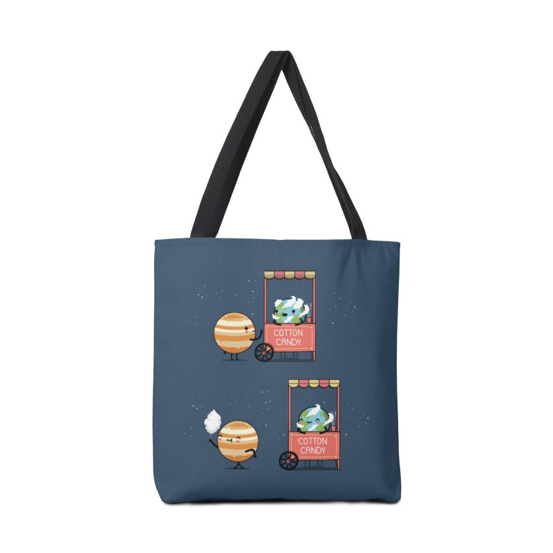 Cotton candy Accessories Bag by wawawiwadesign's Artist Shop