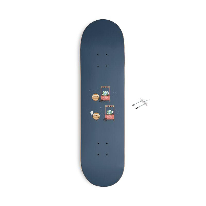 Cotton candy Accessories Skateboard by wawawiwadesign's Artist Shop