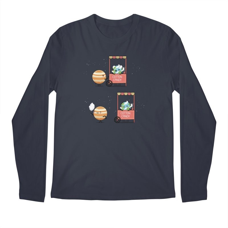 Cotton candy Men's Longsleeve T-Shirt by wawawiwadesign's Artist Shop