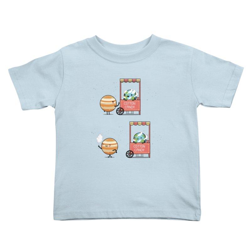 Cotton candy Kids Toddler T-Shirt by wawawiwadesign's Artist Shop