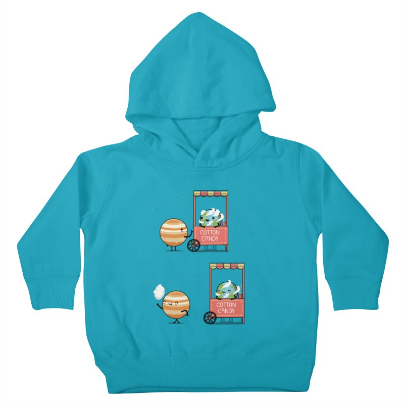 Cotton candy Kids Toddler Pullover Hoody by wawawiwadesign's Artist Shop