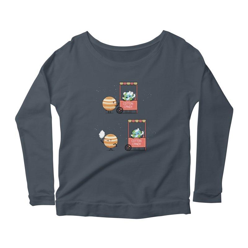 Cotton candy Women's Longsleeve T-Shirt by wawawiwadesign's Artist Shop