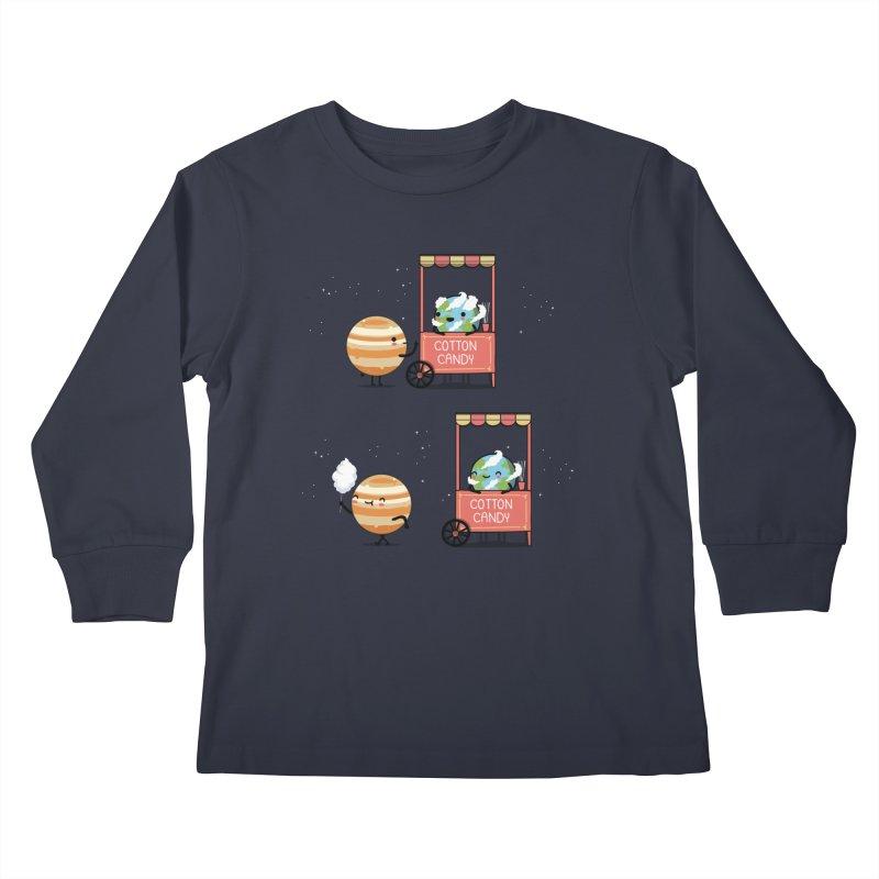 Cotton candy Kids Longsleeve T-Shirt by wawawiwadesign's Artist Shop