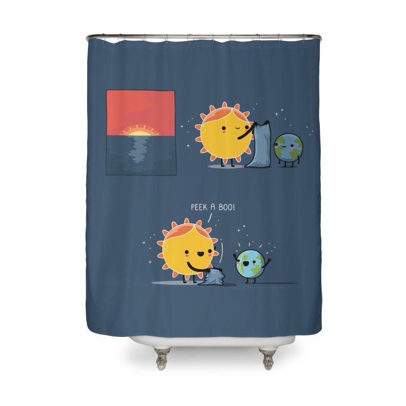 Peek-a-boo! Home Shower Curtain by wawawiwadesign's Artist Shop