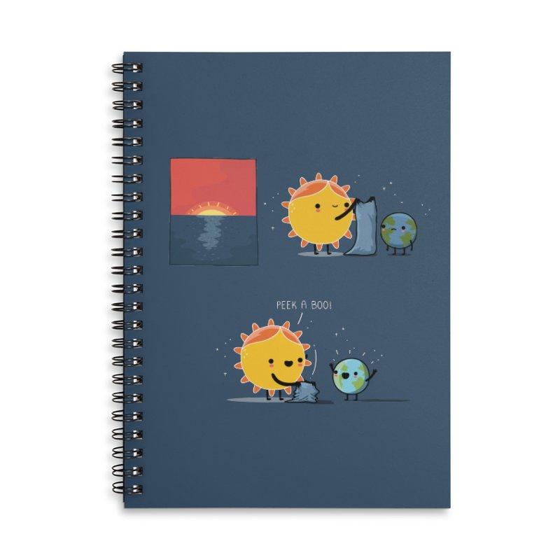 Peek-a-boo! Accessories Notebook by wawawiwadesign's Artist Shop