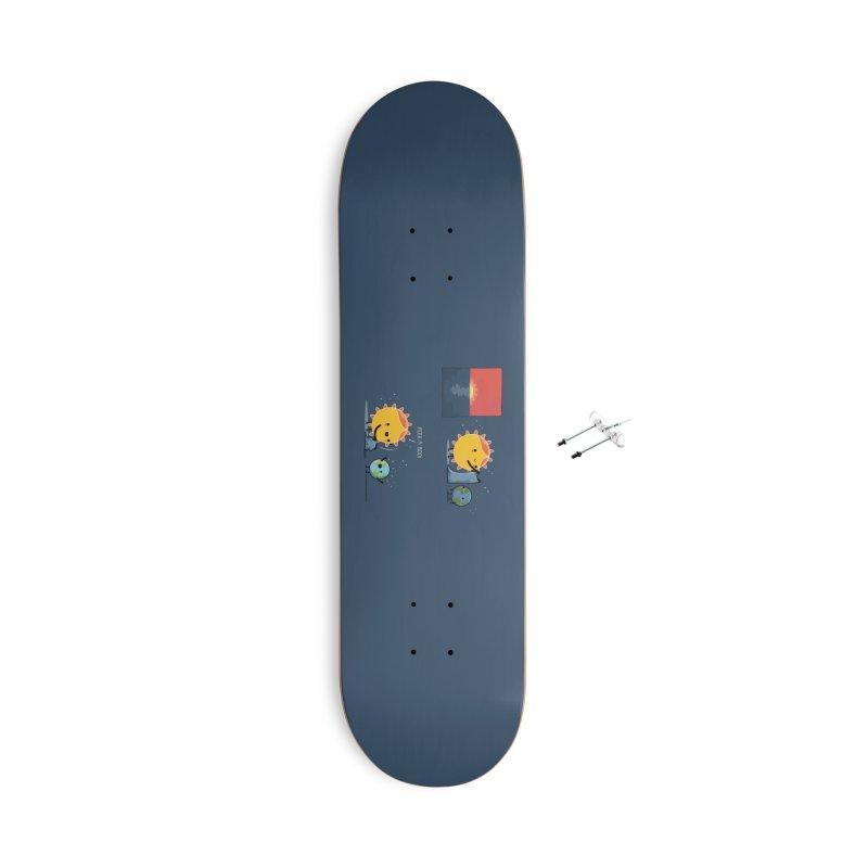 Peek-a-boo! Accessories Skateboard by wawawiwadesign's Artist Shop