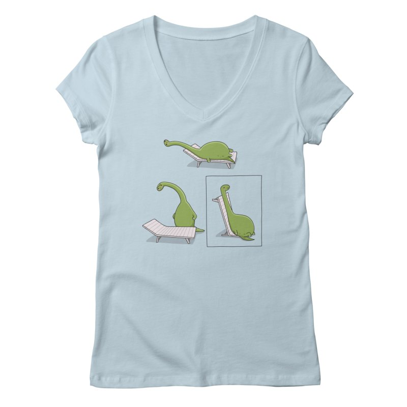 Find a solution Women's V-Neck by wawawiwadesign's Artist Shop