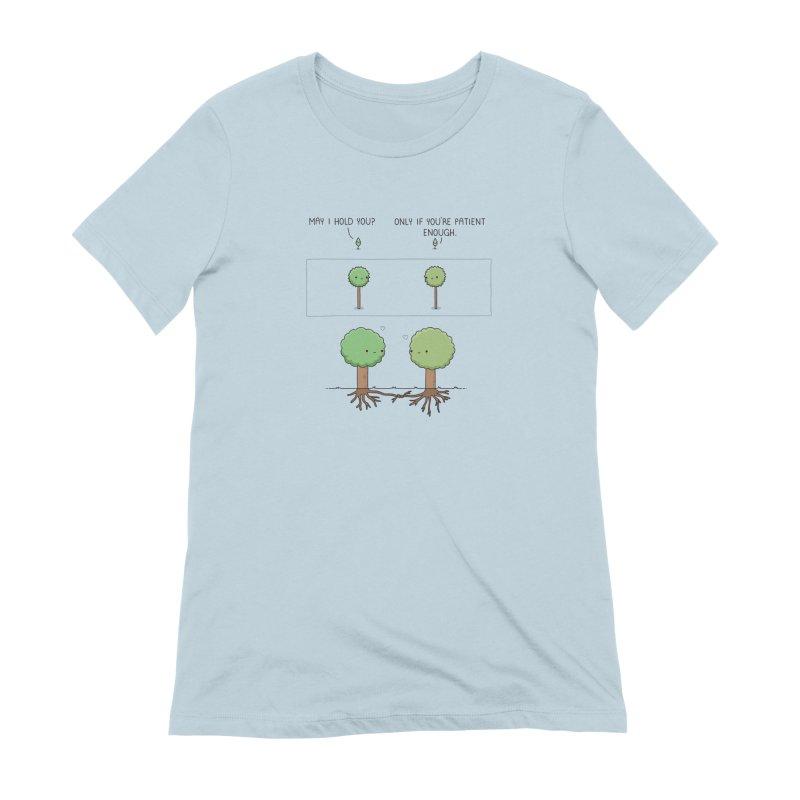 Patience Women's T-Shirt by wawawiwadesign's Artist Shop