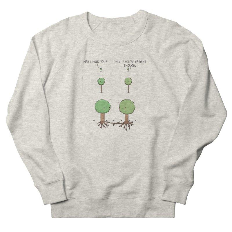 Patience Men's Sweatshirt by wawawiwadesign's Artist Shop