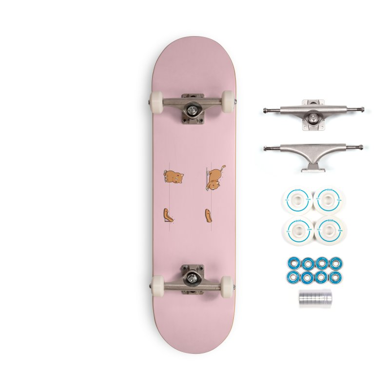 Contagious stretching Accessories Skateboard by wawawiwadesign's Artist Shop