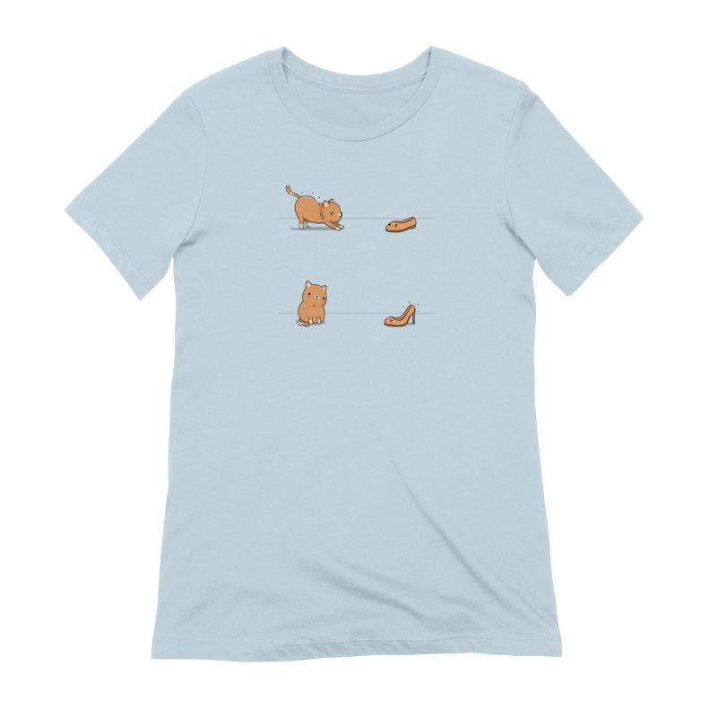 Contagious stretching Women's T-Shirt by wawawiwadesign's Artist Shop