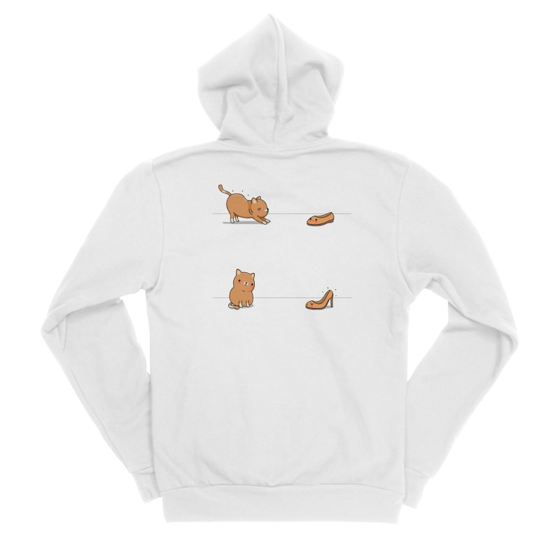 Contagious stretching Men's Zip-Up Hoody by wawawiwadesign's Artist Shop