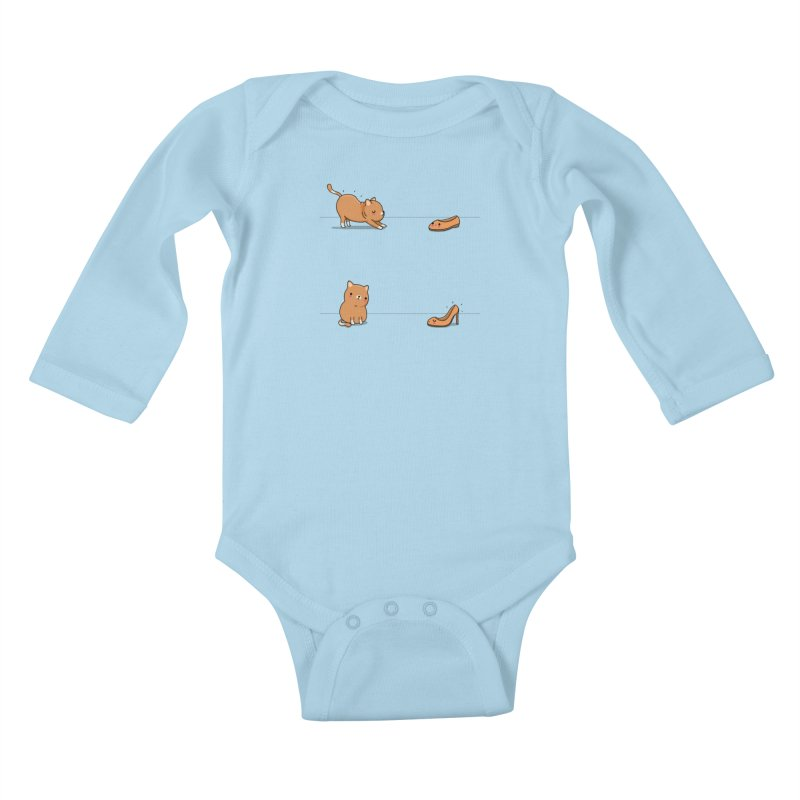 Contagious stretching Kids Baby Longsleeve Bodysuit by wawawiwadesign's Artist Shop