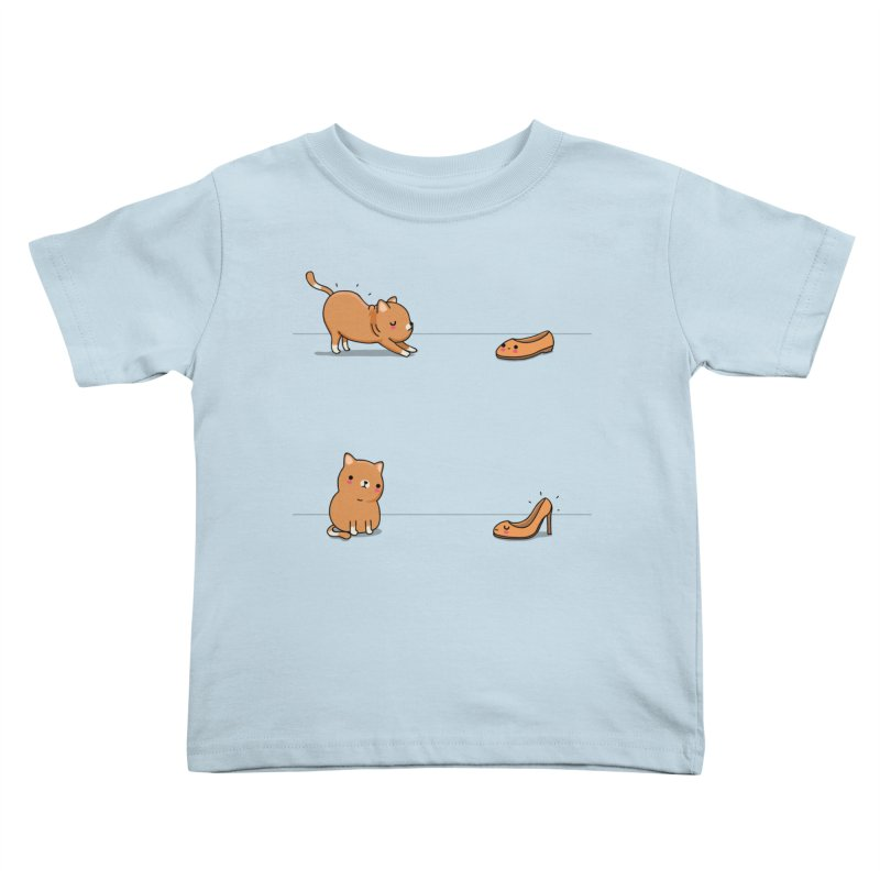 Contagious stretching Kids Toddler T-Shirt by wawawiwadesign's Artist Shop