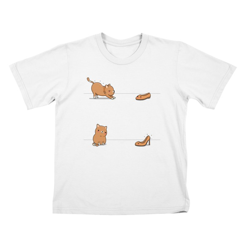 Contagious stretching Kids T-Shirt by wawawiwadesign's Artist Shop