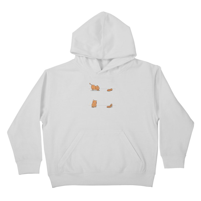 Contagious stretching Kids Pullover Hoody by wawawiwadesign's Artist Shop