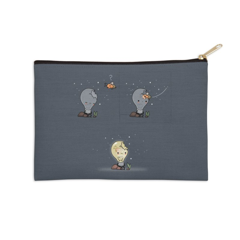 Feel the light again Accessories Zip Pouch by wawawiwadesign's Artist Shop
