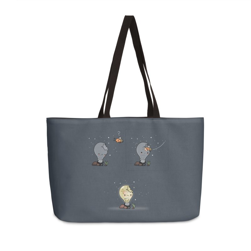 Feel the light again Accessories Bag by wawawiwadesign's Artist Shop