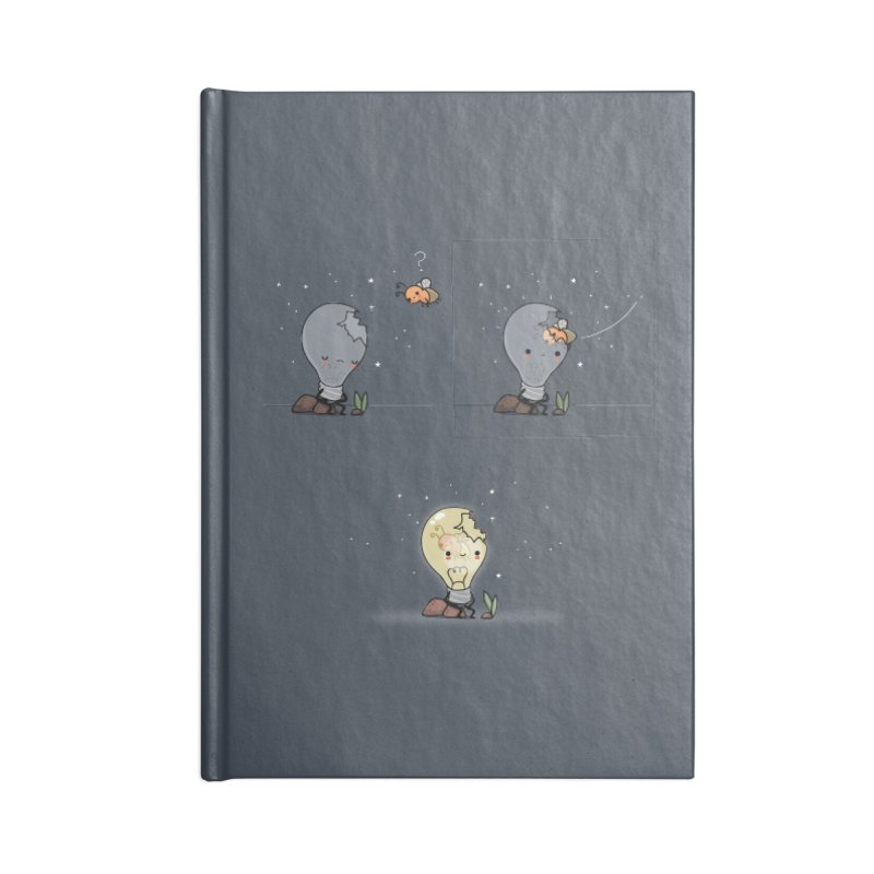 Feel the light again Accessories Notebook by wawawiwadesign's Artist Shop