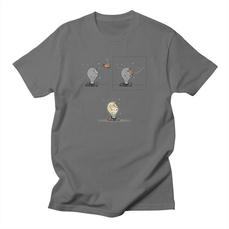 Feel the light again Men's T-Shirt by wawawiwadesign's Artist Shop