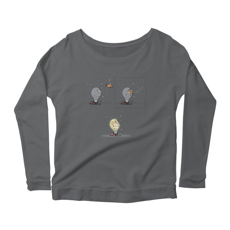 Feel the light again Women's Longsleeve T-Shirt by wawawiwadesign's Artist Shop