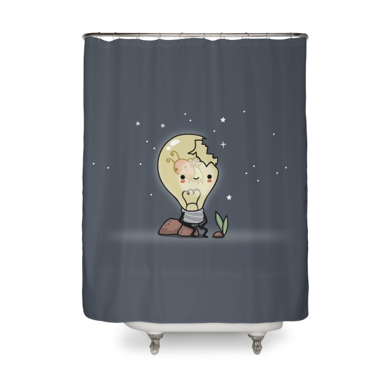 Shining Home Shower Curtain by wawawiwadesign's Artist Shop