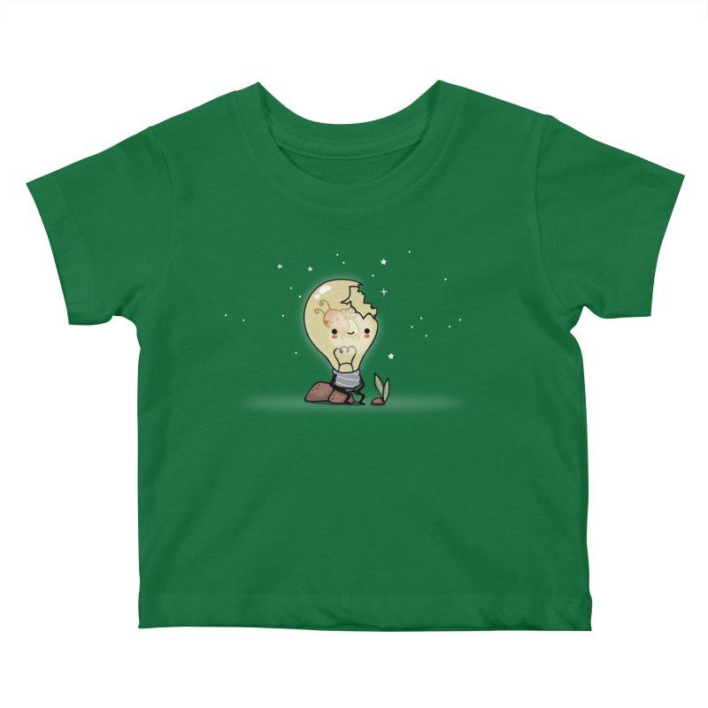 Shining Kids Baby T-Shirt by wawawiwadesign's Artist Shop