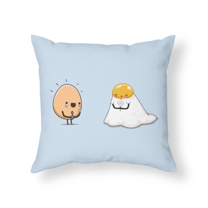 Eggmotional Home Throw Pillow by wawawiwadesign's Artist Shop