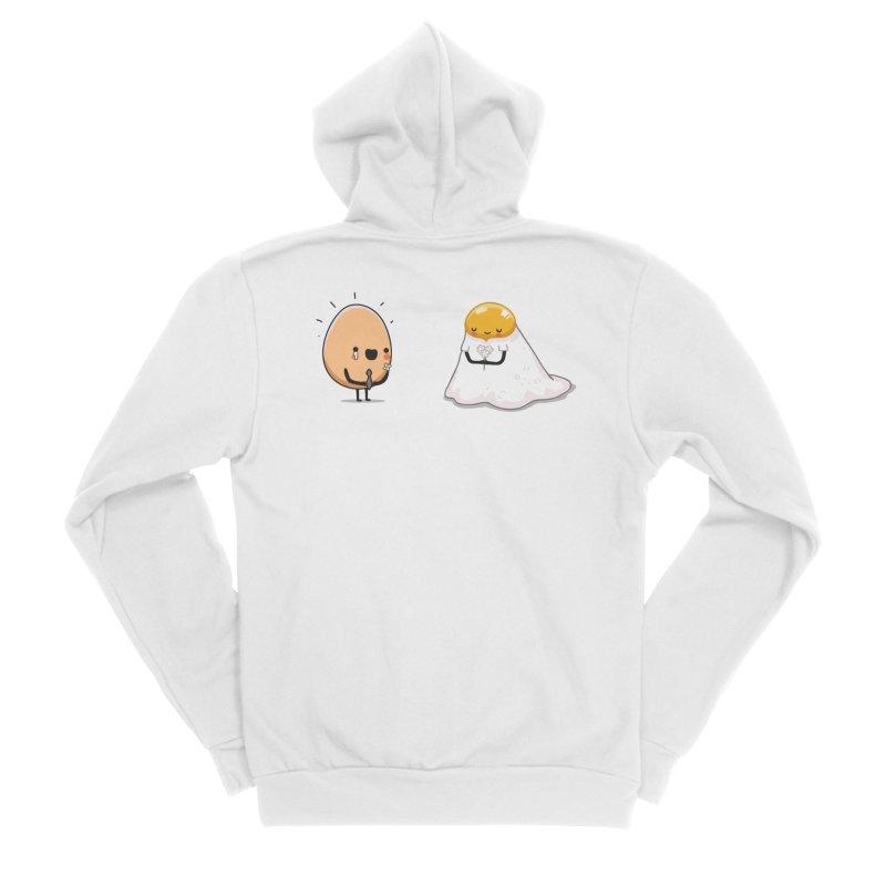 Eggmotional Men's Zip-Up Hoody by wawawiwadesign's Artist Shop