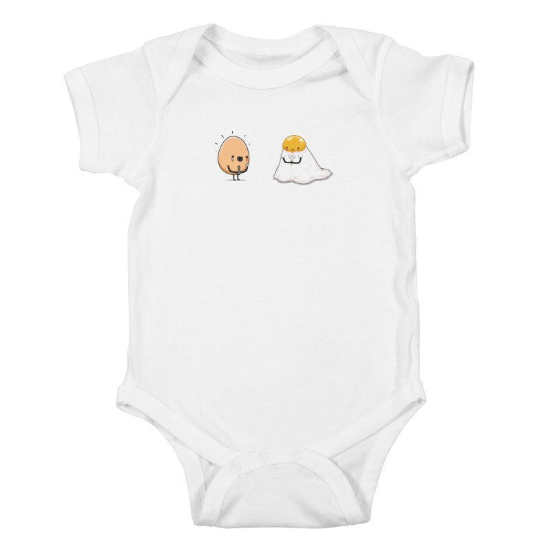 Eggmotional Kids Baby Bodysuit by wawawiwadesign's Artist Shop