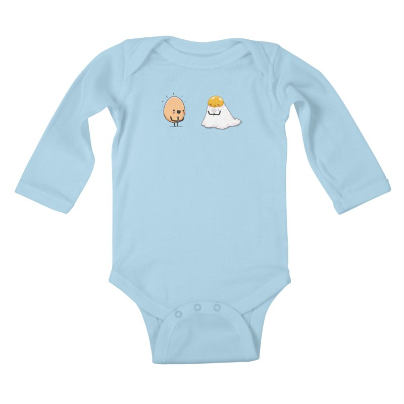 Eggmotional Kids Baby Longsleeve Bodysuit by wawawiwadesign's Artist Shop
