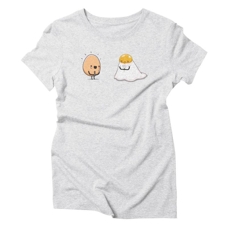 Eggmotional Women's T-Shirt by wawawiwadesign's Artist Shop