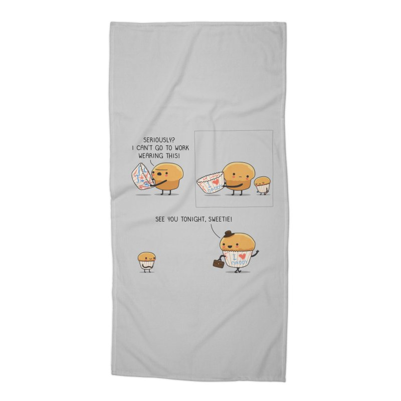 I love daddy Accessories Beach Towel by wawawiwadesign's Artist Shop