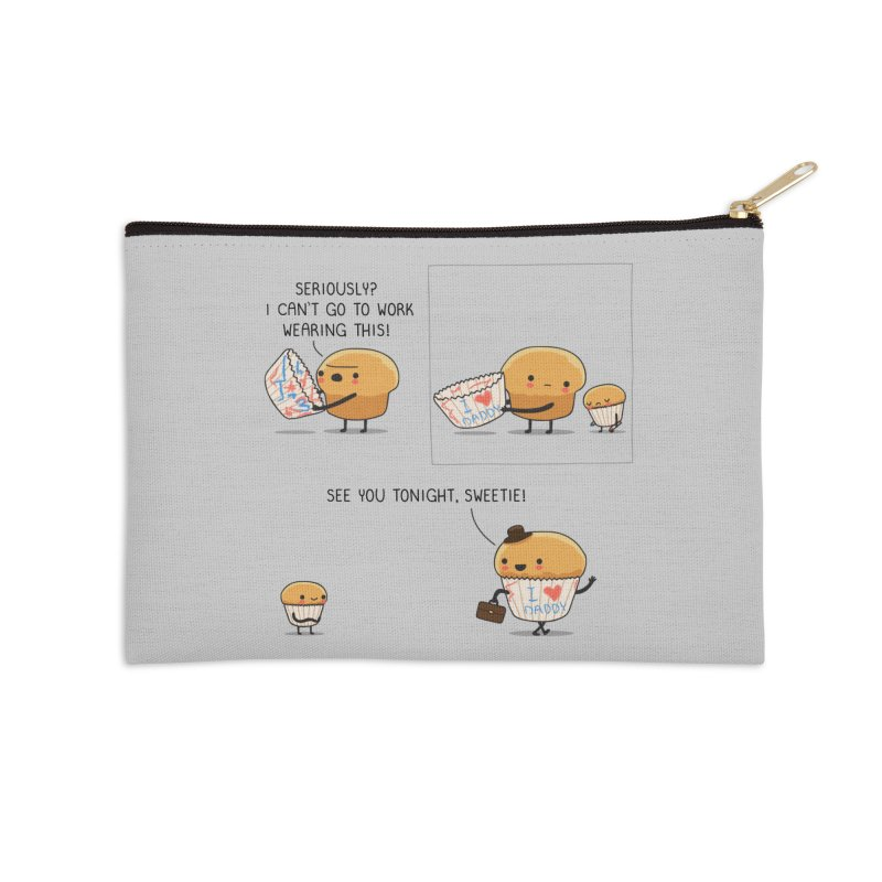I love daddy Accessories Zip Pouch by wawawiwadesign's Artist Shop