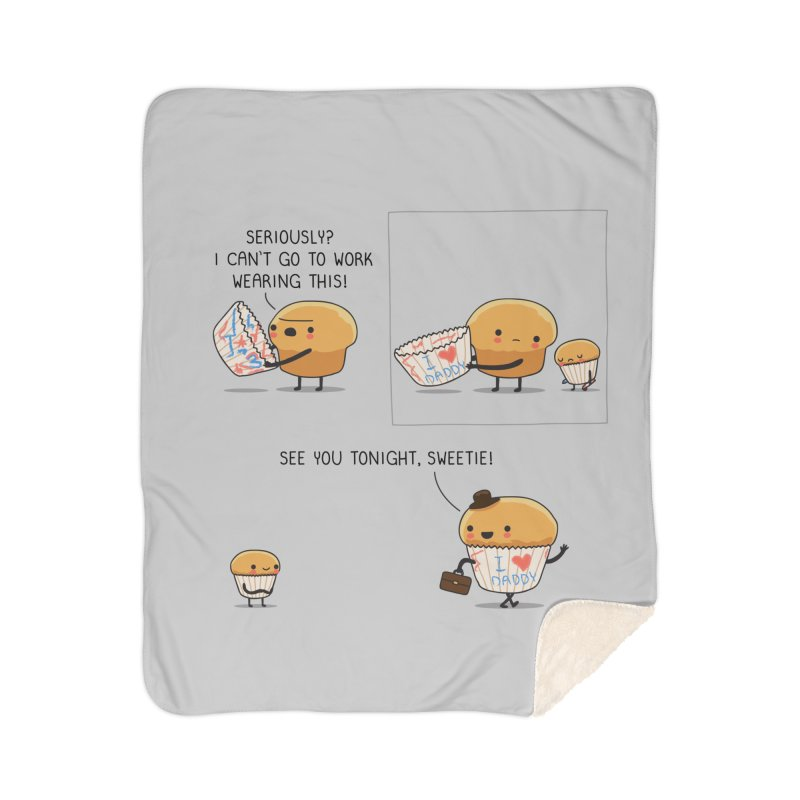 I love daddy Home Blanket by wawawiwadesign's Artist Shop