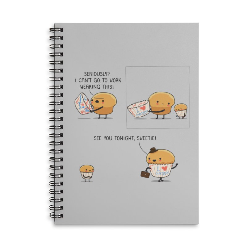I love daddy Accessories Notebook by wawawiwadesign's Artist Shop