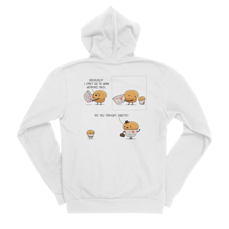 I love daddy Women's Zip-Up Hoody by wawawiwadesign's Artist Shop