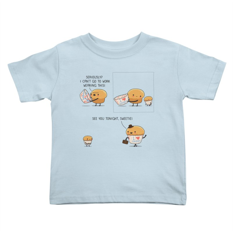 I love daddy Kids Toddler T-Shirt by wawawiwadesign's Artist Shop