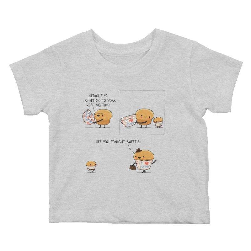 I love daddy Kids Baby T-Shirt by wawawiwadesign's Artist Shop