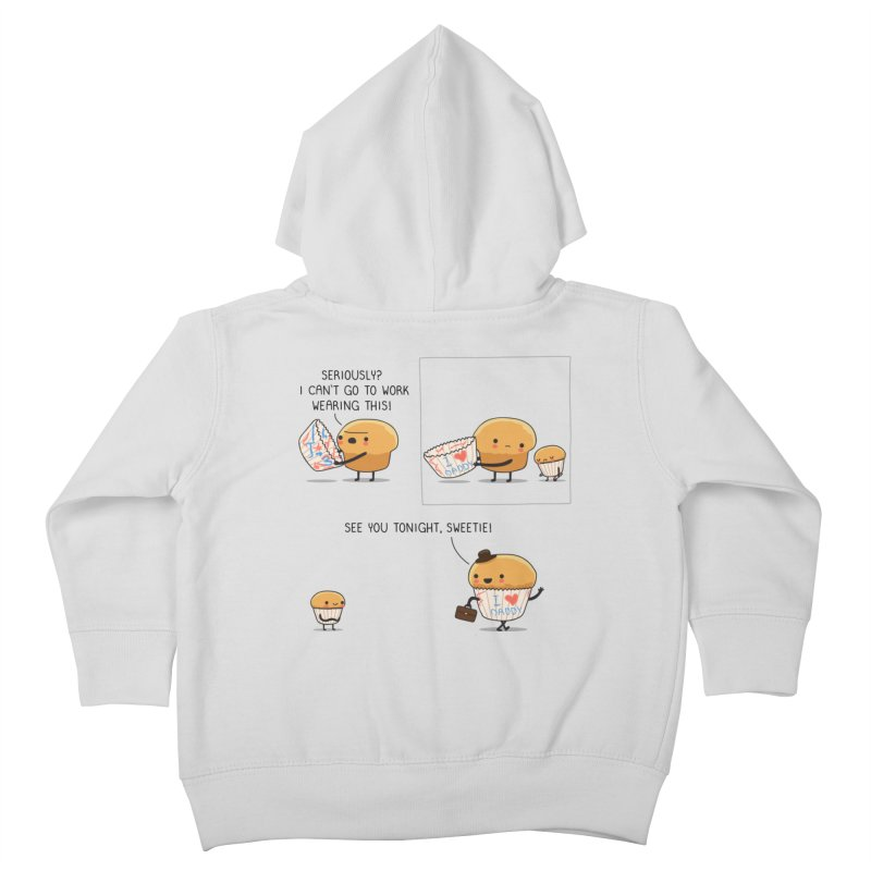 I love daddy Kids Toddler Zip-Up Hoody by wawawiwadesign's Artist Shop