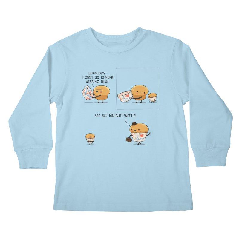 I love daddy Kids Longsleeve T-Shirt by wawawiwadesign's Artist Shop