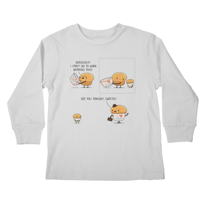 I love daddy Kids Longsleeve T-Shirt by wawawiwadesign's Artist Shop