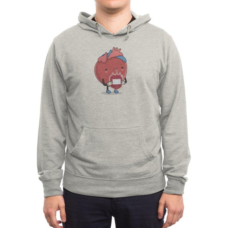 Drink hearty Men's Pullover Hoody by wawawiwadesign's Artist Shop