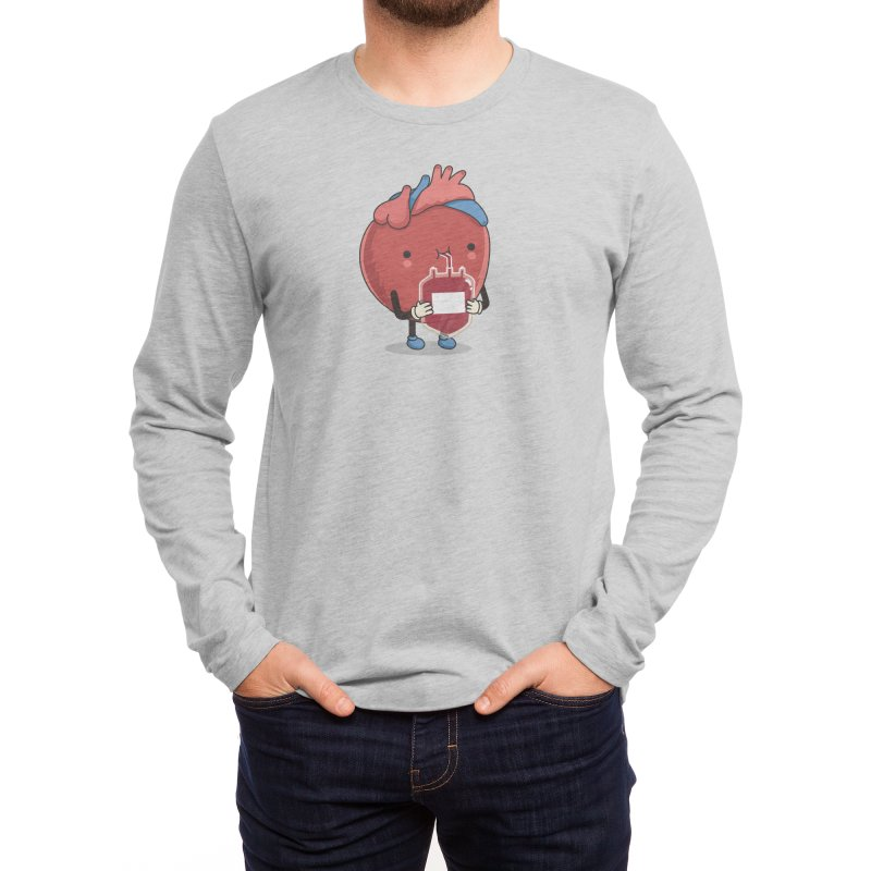 Drink hearty Men's Longsleeve T-Shirt by wawawiwadesign's Artist Shop