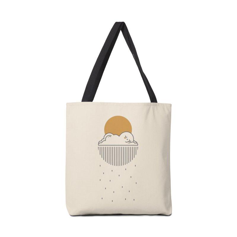 Sleepy cloud Accessories Bag by wawawiwadesign's Artist Shop